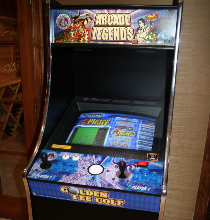 Relive the classics with an arcade game machine from Chicago Gaming