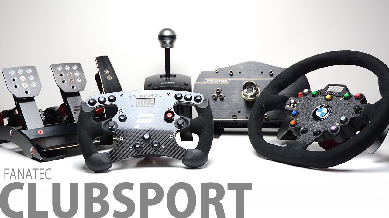 Fanatec Controls-The Best there is!
